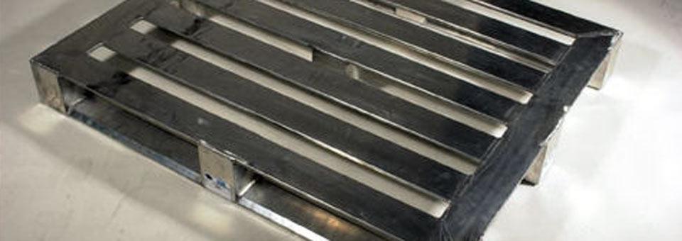 Pallet In Metallo.Metal Pallet Metallo Bancale Paletten Inox Artifex10