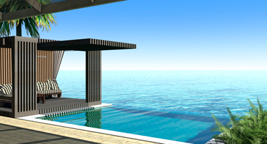 Eco-Resort Design, Eco-Resort Designer, Resort Design, Luxury Resort Design, Island Resort Design, five star resort design, landscape architect, infinity pool, four seasons resort design, cool infinity pool, modern infinity pool, awesome infinity pool, modern resort designers