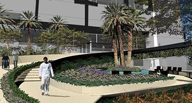 Healing Garden, Healthcare design, artifex10